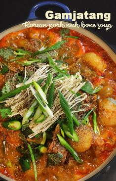 Hi guys! Today I'm sharing Korean Pork Neck Bone Stew, Gamjatang! Most of time, Gamajatang is drinking food in Korea... Either eating while drinking soju or eating when you are hangover.. lol! But doesn't mean you can't enjoy just Gamjatang itself! Gamja means potato, and this soup includes lots of potatoes in the soup. But...Read More »
