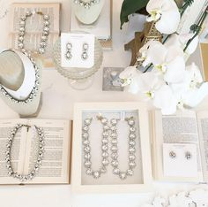 @blushshop: Ending our day with a whole lot of sparkle! #accessories #statement #necklaces