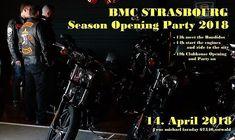 BMC Strasbourg Season Opening Party 2018 organizada por Bandidos MC Strasbourg en Ostwald (Francia)