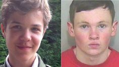 Killer Lewis Daynes (right), 19, jailed for life after 'sexual and sadistic' murder of Breck Brednar (left), 14, in England