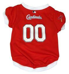 MLB St. Louis Cardinals Dog Jersey - Free Shipping