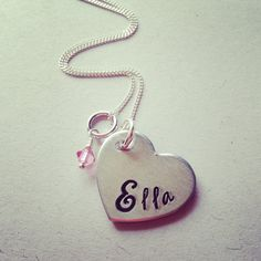 Hey, I found this really awesome Etsy listing at https://www.etsy.com/listing/184339606/hand-stamped-name-heart-circle-star