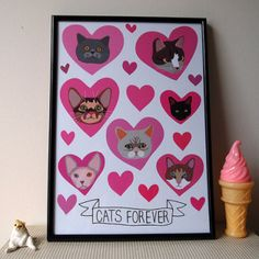 Cats Forever: http://www.justdaydreaming.com/product-category/crazy-for-cats/