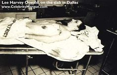 Lee Harvey Oswald autopsy photo - The Weird Picture Archive