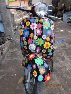 flower Vespa