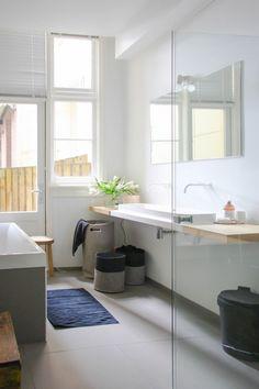 Tvättkorgar i filt