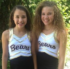 Madison and Gracie Haschak Best Sister Ever, Sister Love, Hashtag Sisters, Amy Walker, Sister Songs, Funny Spongebob Memes, Black Jordans, Cheer Outfits, Sisters Forever