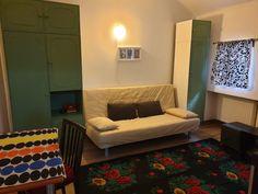Universitate - Piata Rosetti, inchiriere garsoniera mobilata Lounge, Couch, Bed, Modern, Furniture, Home Decor, Universe, Chair, Airport Lounge