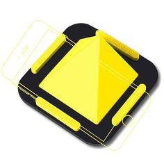 leeHUR Silicone Pyramid Phone Holder gift sale