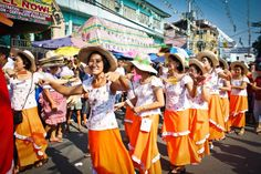 Obando Fertility Rites held from May 17 to 19 in Obando, Bulacan. Massive numbers of men and women dance towards the town church praying for a wife, husband or a child. The pilgrims dance to San Pascual Baylon, Santa Clara de Assisi or the Virgen de Salambao for their wishes.