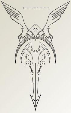 Viking Symbols And Meanings – Norse Mythology-Vikings-Tattoo Viking Tattoo Meaning, Runes Meaning, Viking Tattoo Symbol, Norse Tattoo, Viking Tattoos, Armor Tattoo, Symbol Tattoos, Body Art Tattoos, Tattoo Symbols