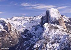 Half Dome, Winter, Yosemite National Park