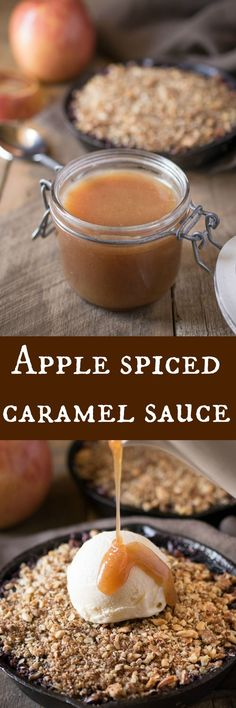 Delicious caramel sauce taken to the next level with apple extract and ...