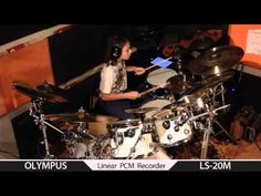 Simon Phillips - Protocol ,drum cover by Igor Falecki (11 y old)