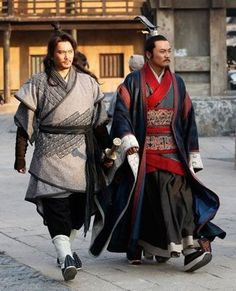 Hanfu. Chinese ancient to modern fashion and costumes. Male fashion