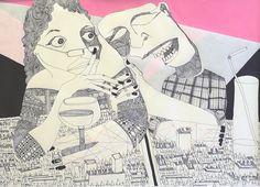 Matthieu Exposito expose actuellement à la Galerie d'Art Baylère à Thionville