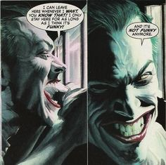 """""""It's Not Funny Anymore.."""" The Joker by Alex Ross"""