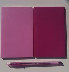 Pink Moleskin Notebooks for Ideas on the Go Blogging Tool Kit