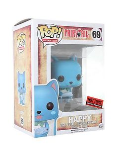 ToyzMag.com » Exclu POP! Naruto, Fairy Tail, Soul Eater chez Hot TOpic