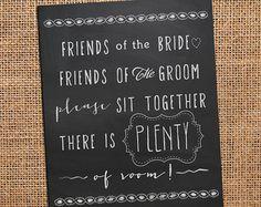 chalkboard wedding sign - Google Search