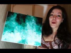 Peinture au Couteau - Speed Painting Acrylique - YouTube