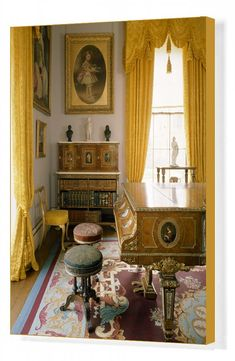 Beautiful Interiors, Beautiful Homes, Isle Of Wight England, English Interior, Interior Architecture, Interior Design, The Royal Collection, Royal Residence, Drawing Room
