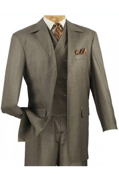 Do you need a #wardrobe adjustment? Your search is over! We suit the fashion man with our wide selection of men's suits including our new arrival of #Vinci suits that are perfect for the #holiday season and holiday parties. (www.FashionMenswear.com)