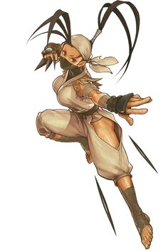 Ibuki looking like she's in mid pounce.