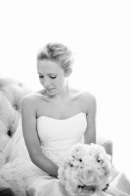 "Another Alyne by Rita Vinieris Bride in our ""Melonie"" gown"