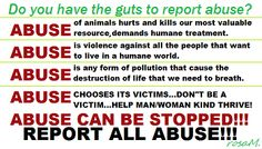 ...so you go about Your Day, Everyday and you Never see Abuse of any kind?   ..Abuse of Animals (STRAYS) People (HOMELESS) Planet (POLLUTION/LITTER)  https://www.facebook.com/pages/League-of-Hope-International-HOPE-2014-Protest-Against-Abuse/354790664620147?fref=ts
