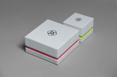 Bespoke packaging including bags, tags and ring and bracelet boxes for luxury jewellery store Union. #packaging