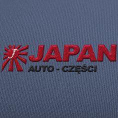 Logo dla Firmy JAPAN Auto części - branża motoryzacyjna