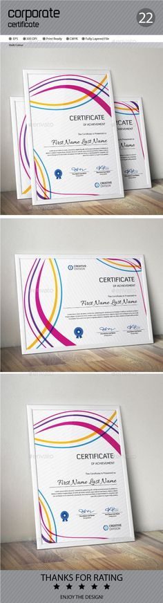 Certificate Certificate templates, Infographic templates and - download certificate templates