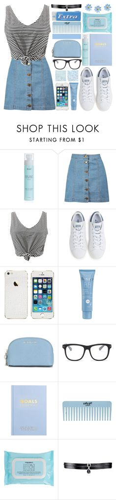 """""""Never regret anything that made you smile."""" by xcuteniallx ❤ liked on Polyvore featuring Boohoo, WithChic, adidas, Thalgo, MICHAEL Michael Kors, STELLA McCARTNEY, kikki.K, Napoleon Perdis and Fallon"""