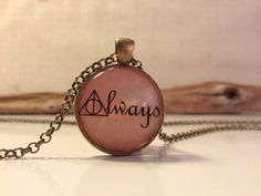 "To muggles, this might seem like another piece of mushy jewellery. But to Potterheads, it's a nod to the saddest love story ever told. ""After all this time?"" ""Always."" *goosebumps* - Cosmopolitan.co.uk"