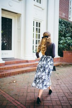 Image Via: Gal Meets Glam in the Organza Gardenia Skirt #Anthropologie