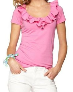 Lilly Pulitzer Casey Ruffle Top
