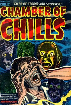 Comic Book Cover For Chamber of Chills Magazine v1 #15