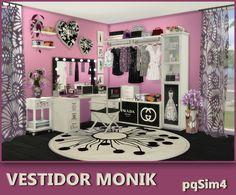 Sims 4 CC's - The Best: Monik dresser room by pqSim4