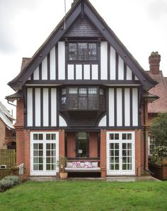 Three Storey House with Tudor Timber - Edwardian home in Sussex