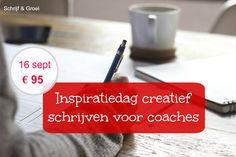 Werk je als coach, therapeut of op een andere manier met mensen? Ben je geïnteresseerd in de kracht van schrijven en wat je hiermee zou kunnen in je werk en als persoon? Dan is deze Inspiratiedag i…