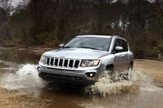10 SUVs That Get Good Gas Mileage: 2012 Jeep Compass