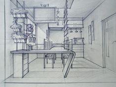 Interior Design For Bathroom Info: 3131999988 Interior Design Renderings, Drawing Interior, Interior Rendering, Interior Sketch, Croquis Architecture, Architecture Portfolio, Interior Architecture, Perspective Sketch, Point Perspective