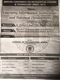 This African Conference on Information Systems and Technology will provide a forum for researchers, practitioners and educators to present and discuss the most recent innovations, trends, experiences and concerns in all kinds of technology. Discussions cover information technology and allied areas such as electrical and electronic engineering, computer science, computer engineering, and information systems.