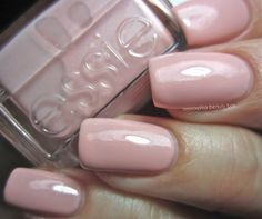 Got Engaged – A dusty ballet-slipper pink with what looks like finely ground silver and baby pink shimmer