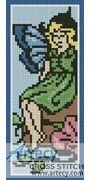 Fairy Bookmark Counted Cross Stitch Pattern http://www.artecyshop.com/index.php?main_page=product_info&cPath=26&products_id=1264