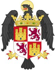 coat of arms for Queen Isabella