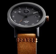 41aeaa37c9ce Minus-8 Watches  Born Of Silicon Valley Industrial Design Watch Releases  Reloj Del Mundo