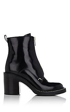 Shelby Zip-Front Ankle Boots