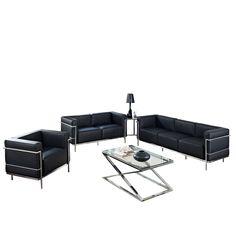 Sofa Set in Black